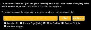 unlock facebook